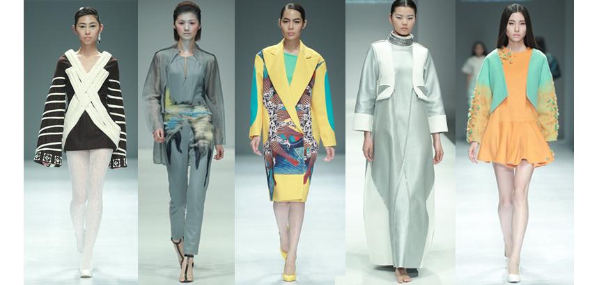 中国国际大学生时装周图片